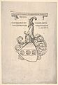 Bookplate with the coat of arms of Konrad Peutinger MET DP834173.jpg