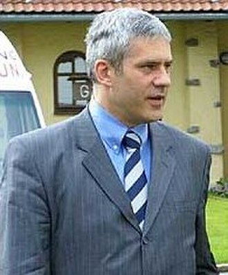 Boris Tadić - Tadić visiting George C. Marshall European Centre for Security Studies in Garmisch-Partenkirchen, 2003.