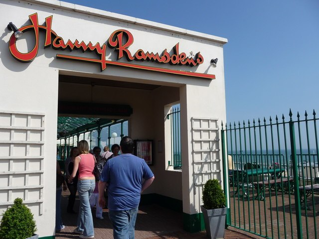 Bournemouth , Harry Ramsden's Fish and Chips - geograph.org.uk - 1289052