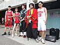 Boy, Lily Cao, Dabao Lin and Demon Slayer cosplayers 20200704a.jpg