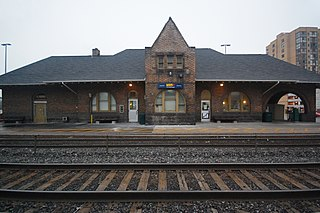 Brampton GO Station railway station in Brampton, Canada
