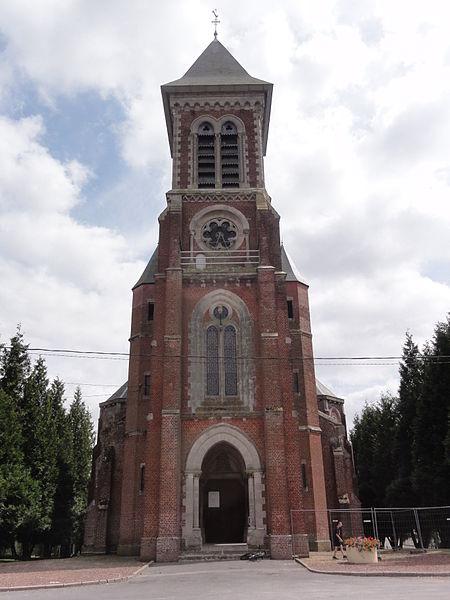 Brancourt-le-Grand (Aisne) église
