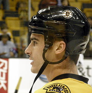 Brandon Bochenski - Bochenski with the Boston Bruins in 2007.