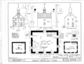 Brandywine Academy, 5 Vandever Avenue, Wilmington, New Castle County, DE HABS DEL,2-WILM,8- (sheet 1 of 2).png