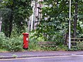 Branksome, postbox No. BH13 253, Western Road - geograph.org.uk - 1427574.jpg