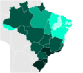 Brazilian States by Literacy rate.PNG