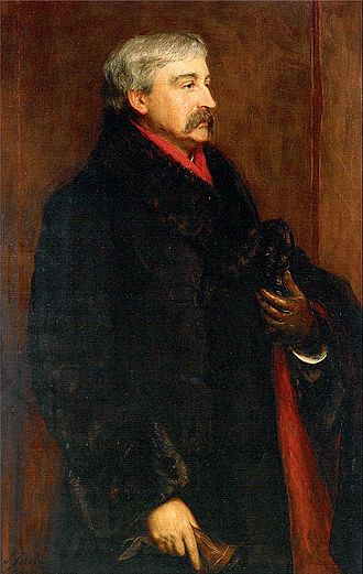 Bret Harte - Portrait of Bret Harte – oil painting by John Pettie (1884)