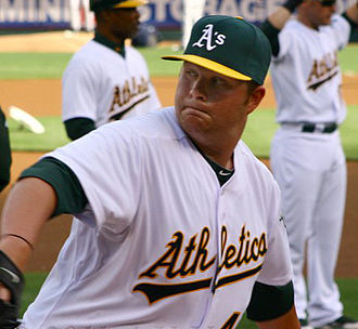 Brett Anderson (baseball) - Anderson with the Oakland Athletics.
