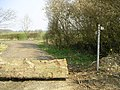 Bridleway and Footpath, nr Leckhampstead - geograph.org.uk - 384955.jpg