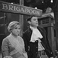 Brigadoon muzikale komedie voor NCRV televisie Jenny Arean en Jacco van Renes, Bestanddeelnr 915-9861.jpg