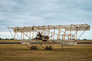 RAAF Museum - A Bristol Boxkite replica at the Centenary of Military Aviation