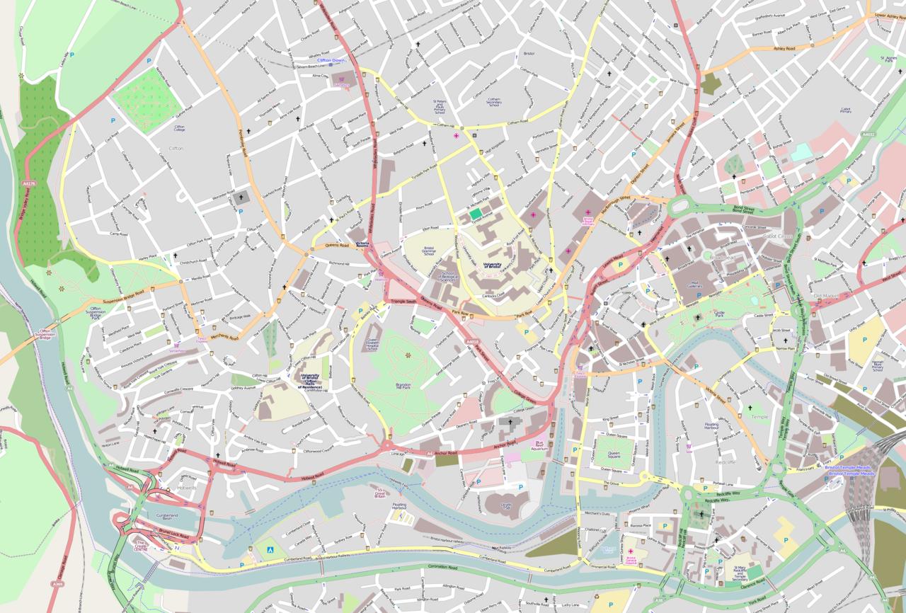 Cardiff Walking Tour Map