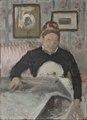 Brita Maria (Mussa) Banck (1830-1906), housekeeper (Eva Bonnier) - Nationalmuseum - 134542.tif