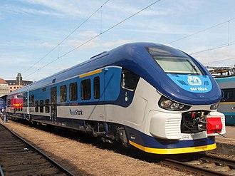 České dráhy - ČD Class 844 regional train