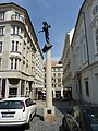Brno, socha Mozarta (Kurt Gebauer), 05.JPG