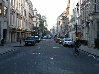 street in Mayfair, London, England