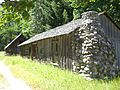 Buckner Homestead Historic District, Buzzard-Buckner Cabin.JPG