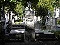 Bucuresti, Romania, Cimitirul Bellu Ortodox (mormantul lui Liviu Rebreanu-scriitor).JPG