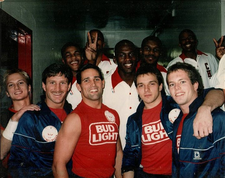 BudLightDaredevils and Michael Jordan