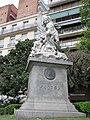 Buenos Aires - Recoleta - Homenaje a Falcón en Plaza Ramón J. Cárcano 1.JPG