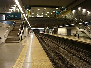 Puán (Buenos Aires Underground) - Image: Buenos Aires Subte Puan 1