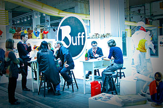 The Brandery - Image: Buff brand at The Brandery Winter Edition 2010