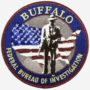 FBI Buffalo Field Office - FBI Buffalo Field Office patch