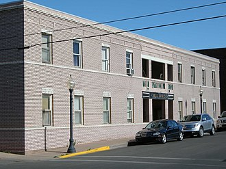 National Register of Historic Places listings in Grant County, New Mexico - Image: Bullard Hotel Silver City NM