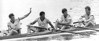 Olaf Förster - Förster (left) in 1985