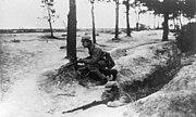 Bundesarchiv Bild 183-R34771, Frankreich, Arras, Schützengraben