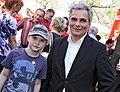 Bundeskanzler Werner Faymann, 1.Mai 2012 (6987137248).jpg