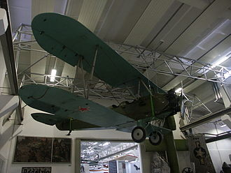 Polikarpov Po-2 - A Po-2 at a museum in Dresden, Germany