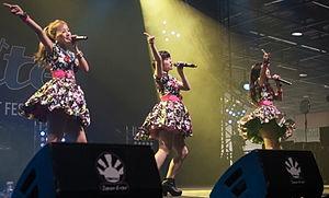 Buono! - Buono! performing at Japan Expo 2014
