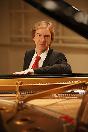 Burkard Schliessmann - Burkard Schliessmann in Berlin at the presentation of his Chopin-Schumann Anniversary Edition 2010