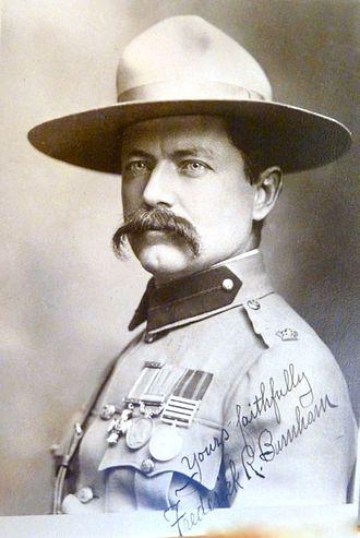 Howard Burnham - Maj Frederick Russell Burnham, DSO, brother