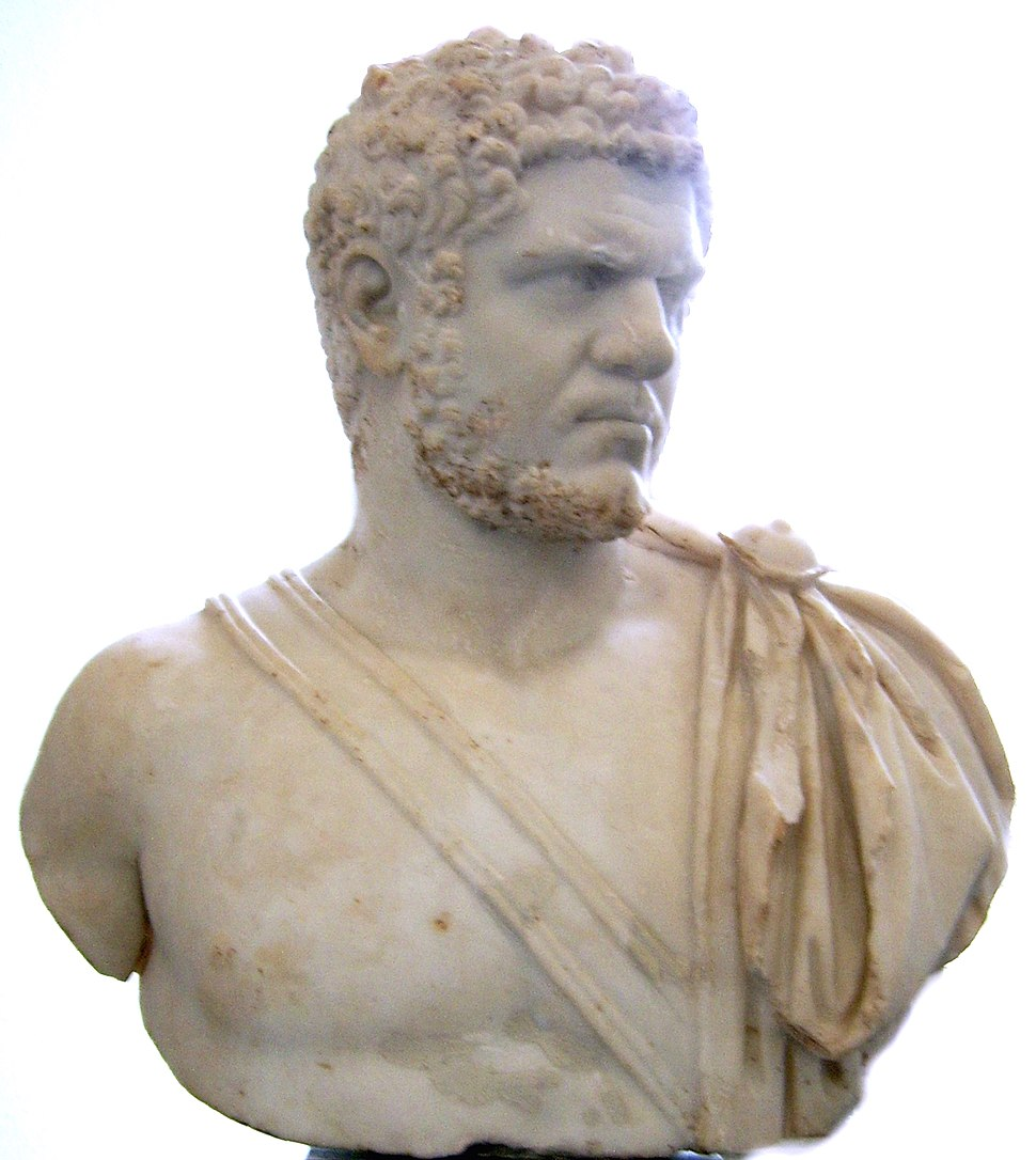 Bust of Caracalla Antikensammlung Berlin
