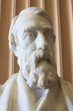 John Goodsir - Bust of Prof John Goodsir by David Watson Stevenson, Old College, University of Edinburgh