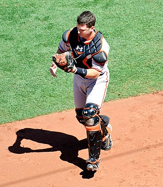 Buster Posey - Posey at the catcher position.