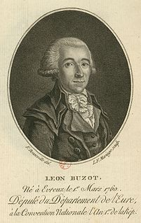 François Buzot French politician
