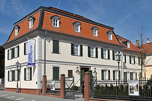 Isaac von Sinclair - The house in which he was born in Bad Homburg