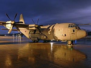 Bardufoss Airport - Lockheed C-130 Hercules of RAF Lyneham at Bardufoss