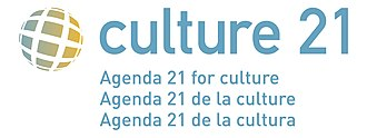 Cultural governance - Logo of Agenda 21 for culture