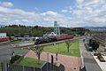 C61 2 steam locomotive leading a tour train Kyoto Railway Museum 2016-10-06.jpg
