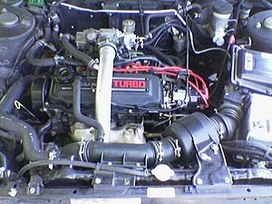 Nissan CA engine - CA18ET.