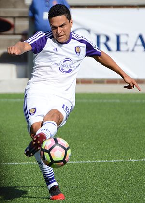 Tony Rocha - Rocha playing for Orlando City B in 2017