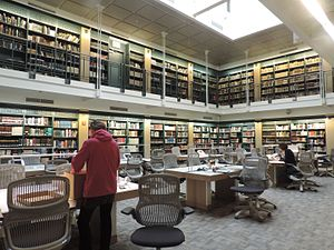 Center for Jewish History - Reading room