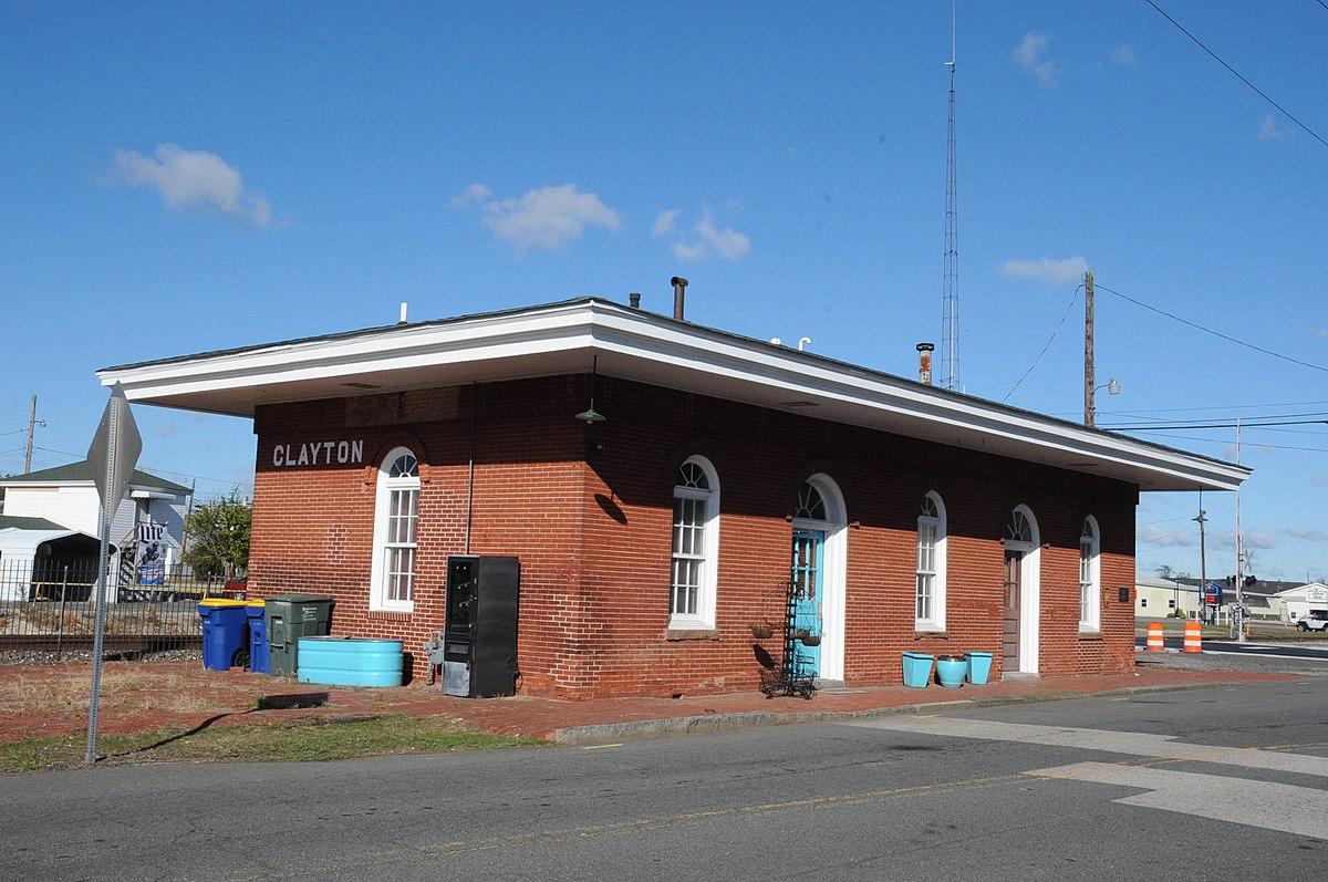 Clayton Railroad Station Wikipedia