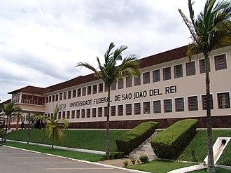 Federal University of São João del-Rei - Tancredo Neves campus in São João Del-Rei