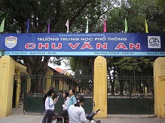 Chu Văn An High School (Hanoi) - Chu Van An National High School
