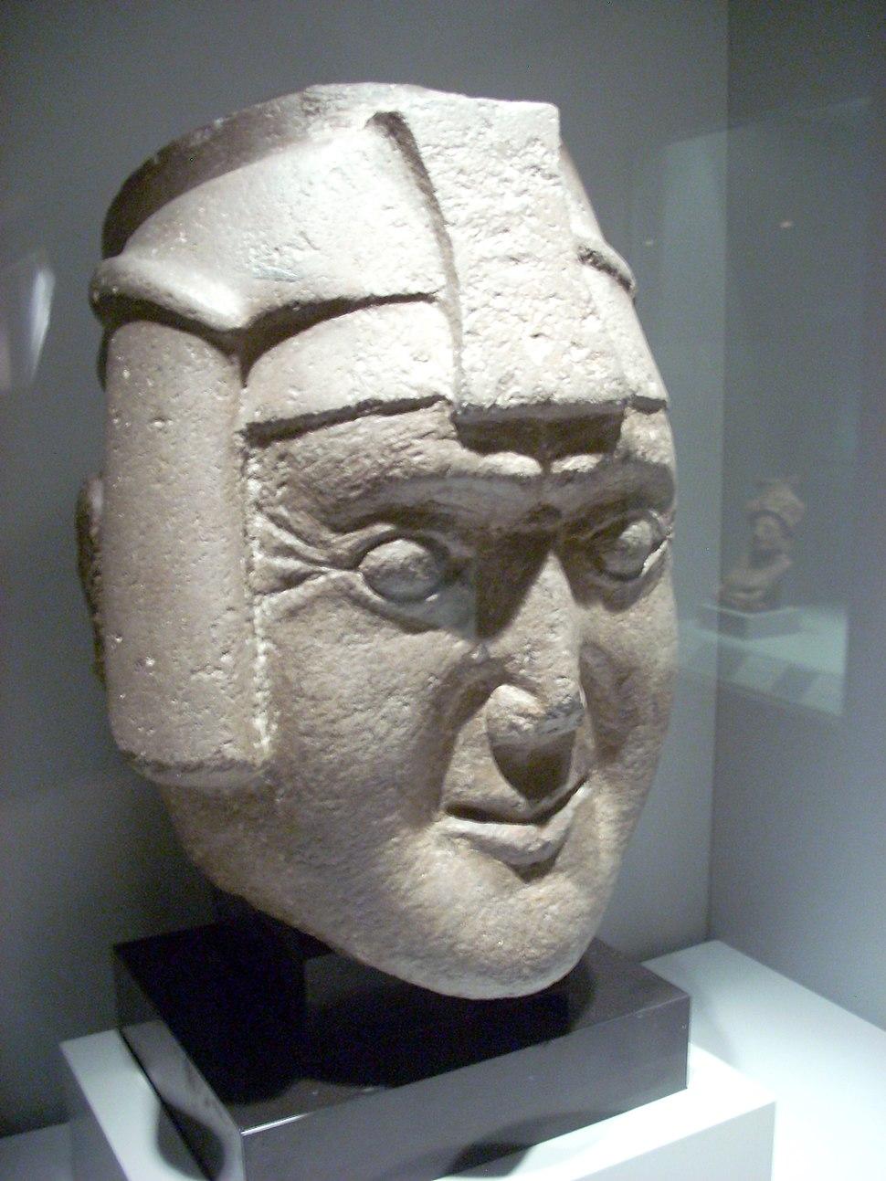Cabeza de Viracocha, Museo de América